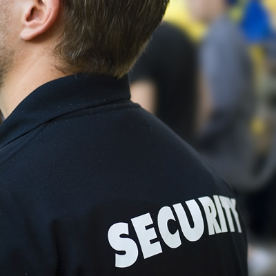 Photograph Of An Event Security Officer
