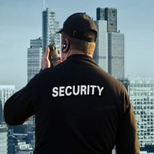 Photograph Of A Security Officer